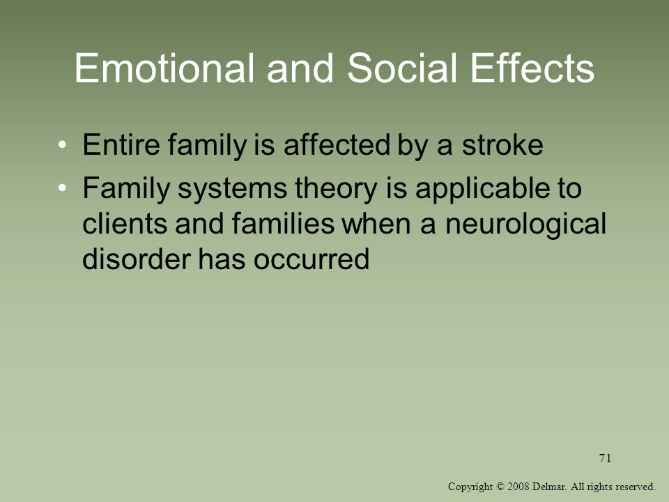 Emotional and Social Effects