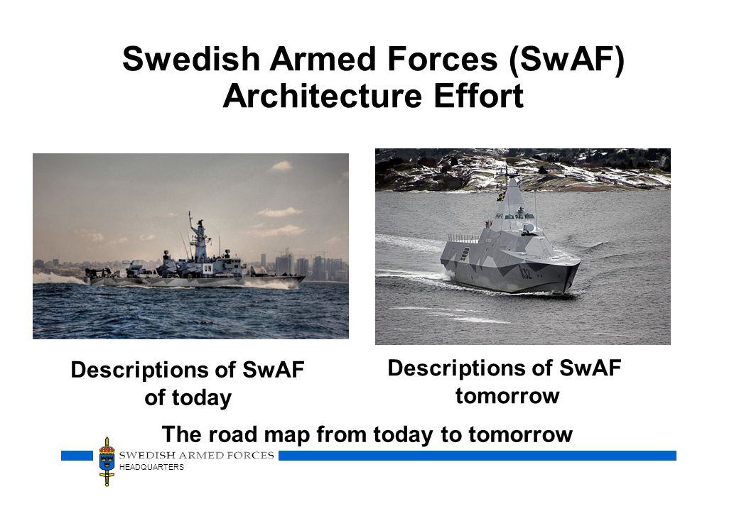 Swedish Armed Forces (SwAF) Architecture Effort