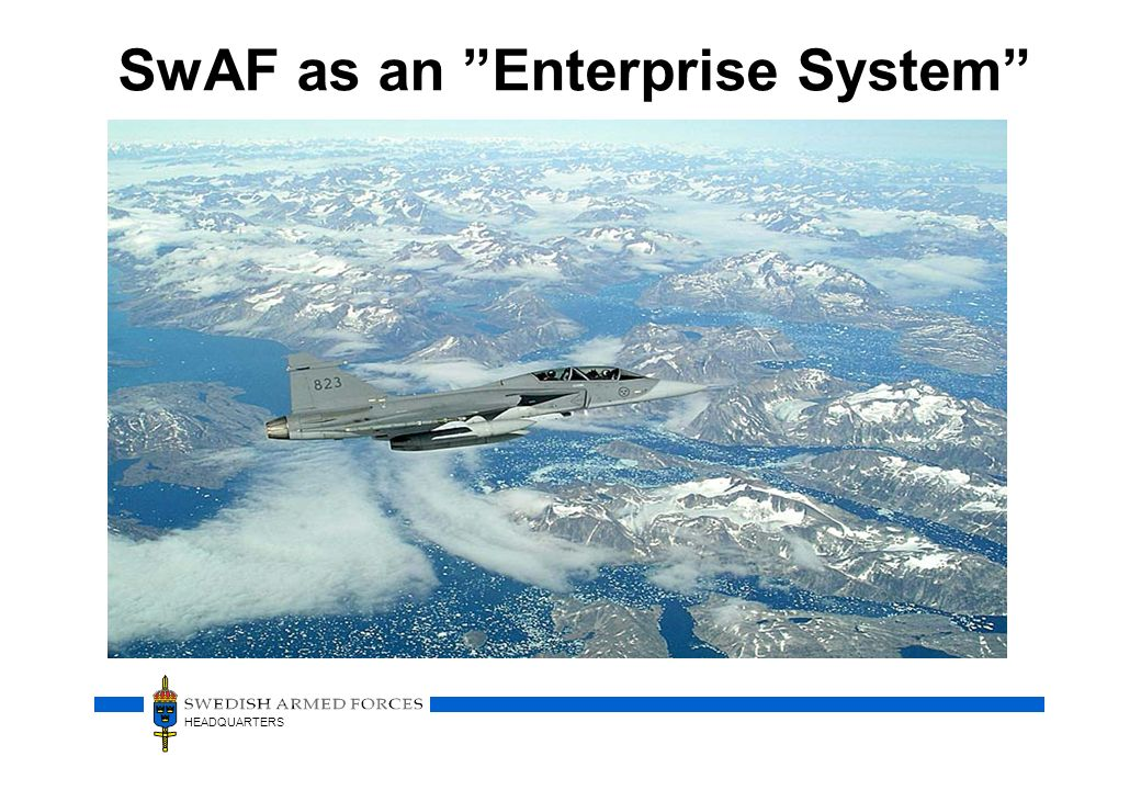SwAF as an Enterprise System
