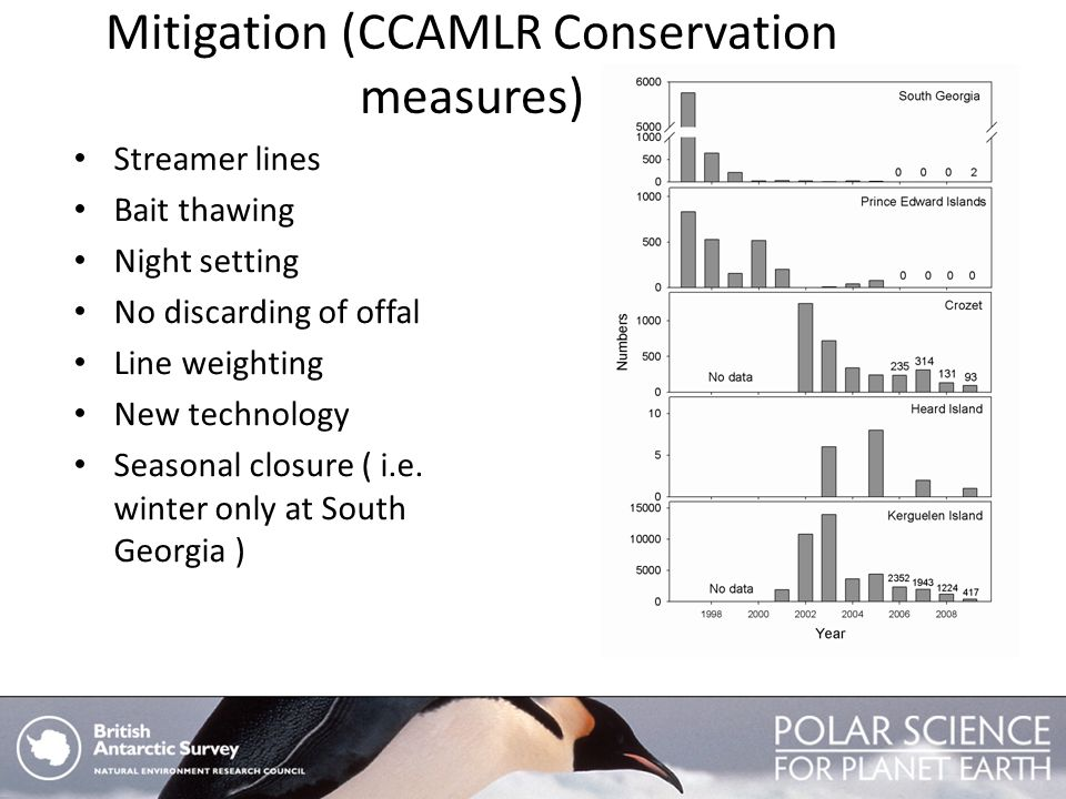 Mitigation (CCAMLR Conservation measures)