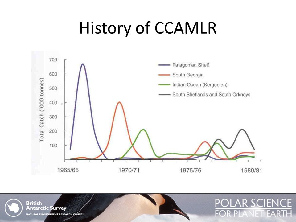 History of CCAMLR