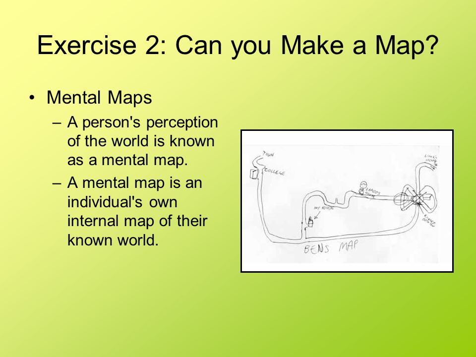 Exercise 2: Can you Make a Map