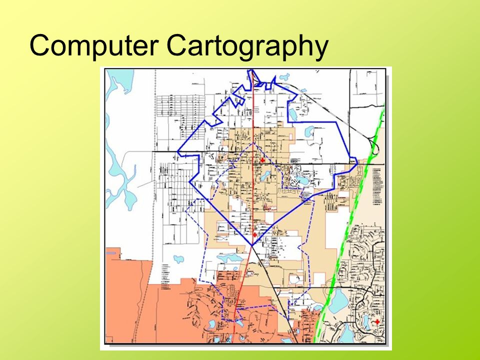 Computer Cartography