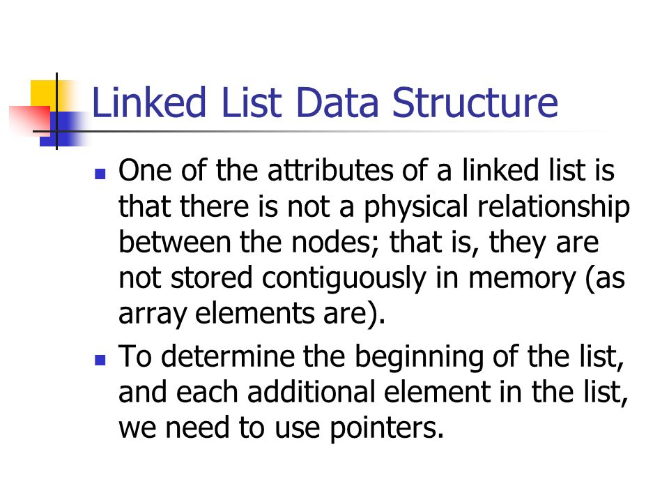 Linked List Data Structure