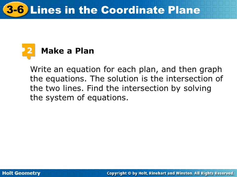 2 Make a Plan.