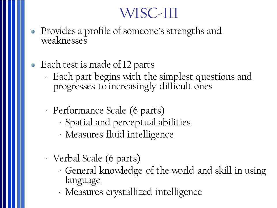 intelligence and individual differences ppt