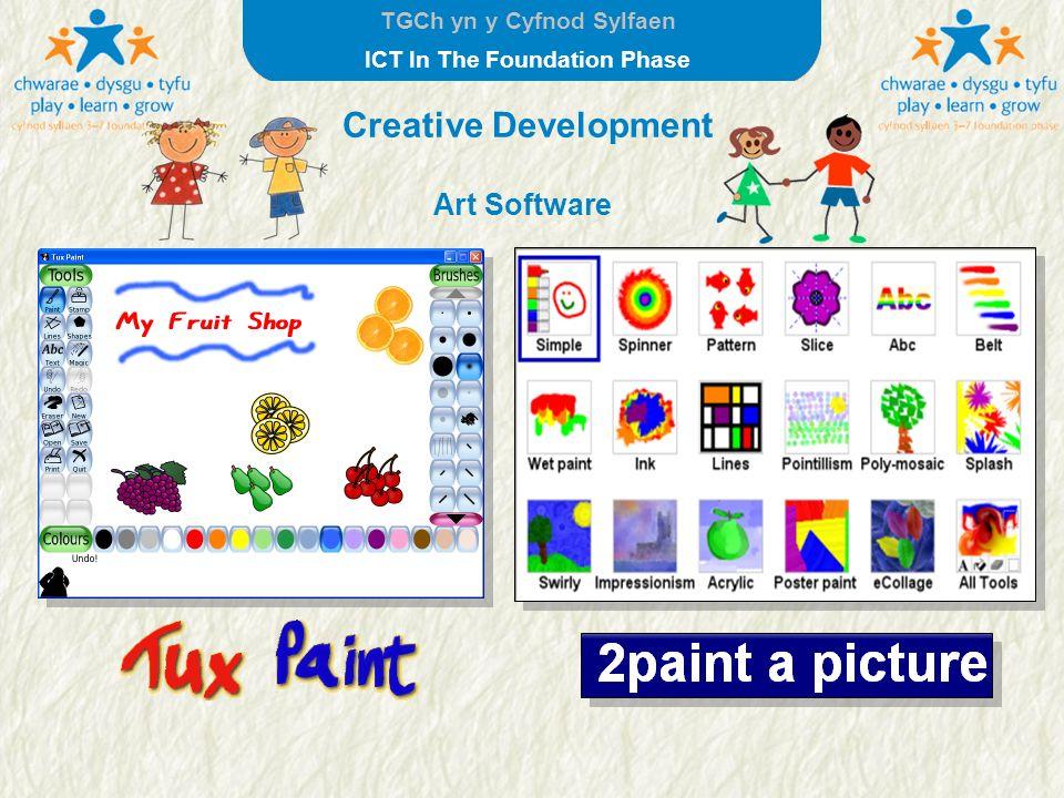 Creative Development Art Software