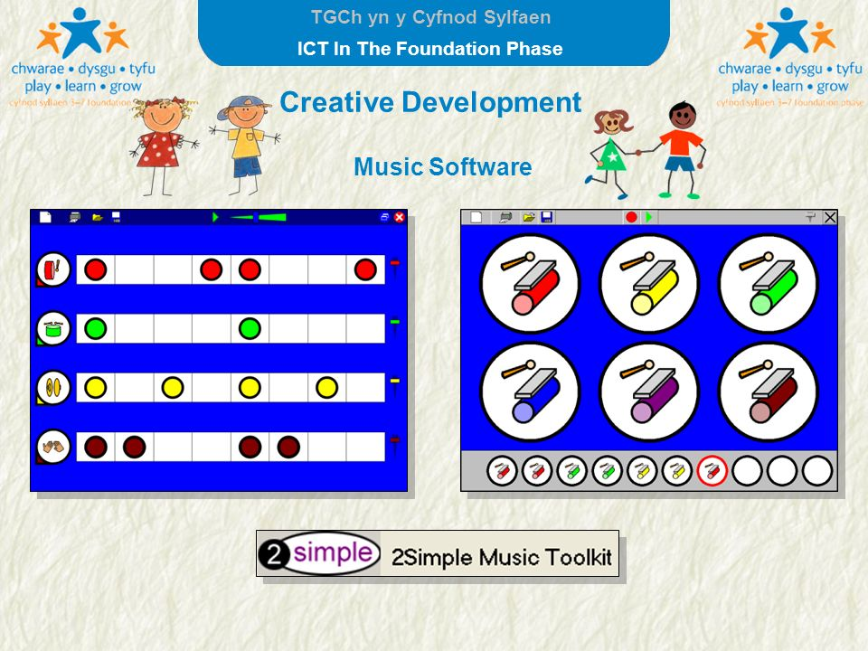 Creative Development Music Software