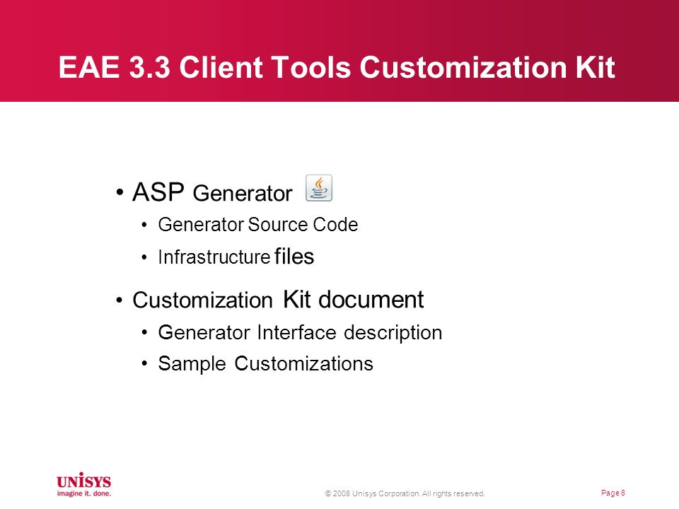 EAE 3.3 Client Tools Customization Kit