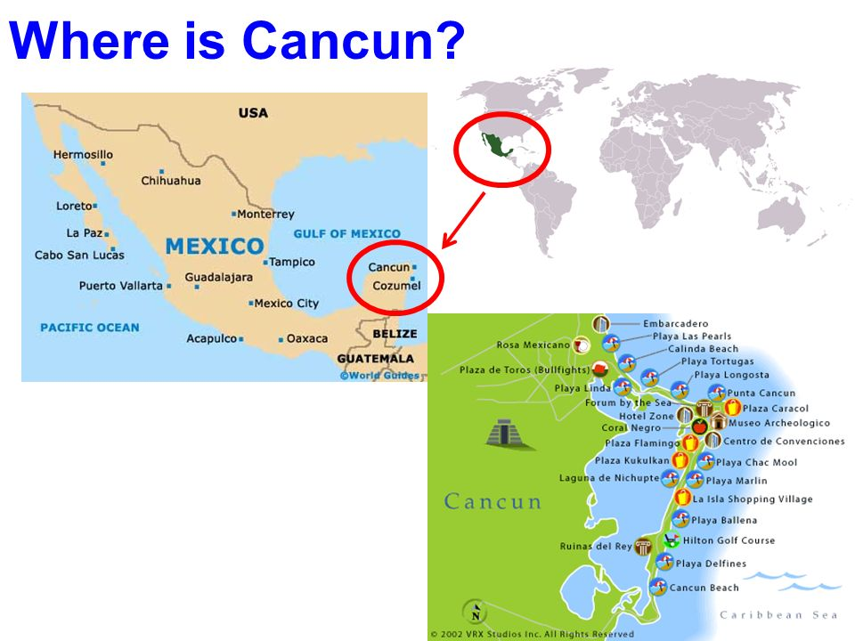 Where is Cancun