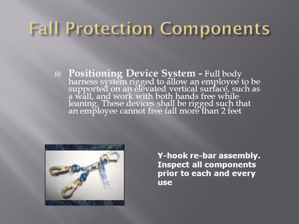 Fall Protection Components