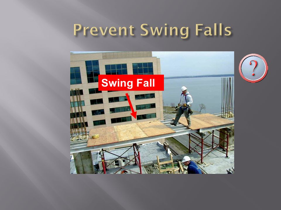 Prevent Swing Falls Swing Fall