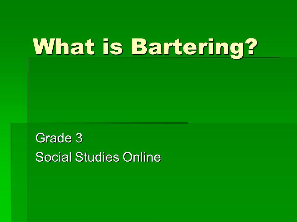 Grade 3 Social Studies Online