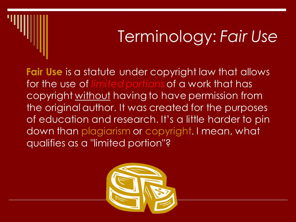 Terminology: Fair Use