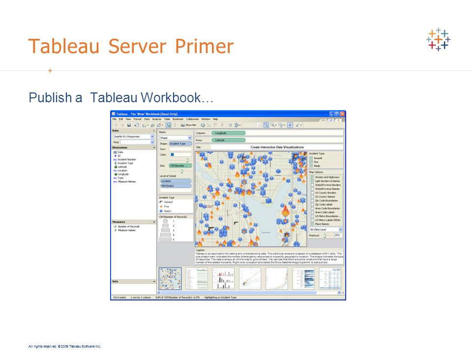 Tableau Server Primer Publish a Tableau Workbook…