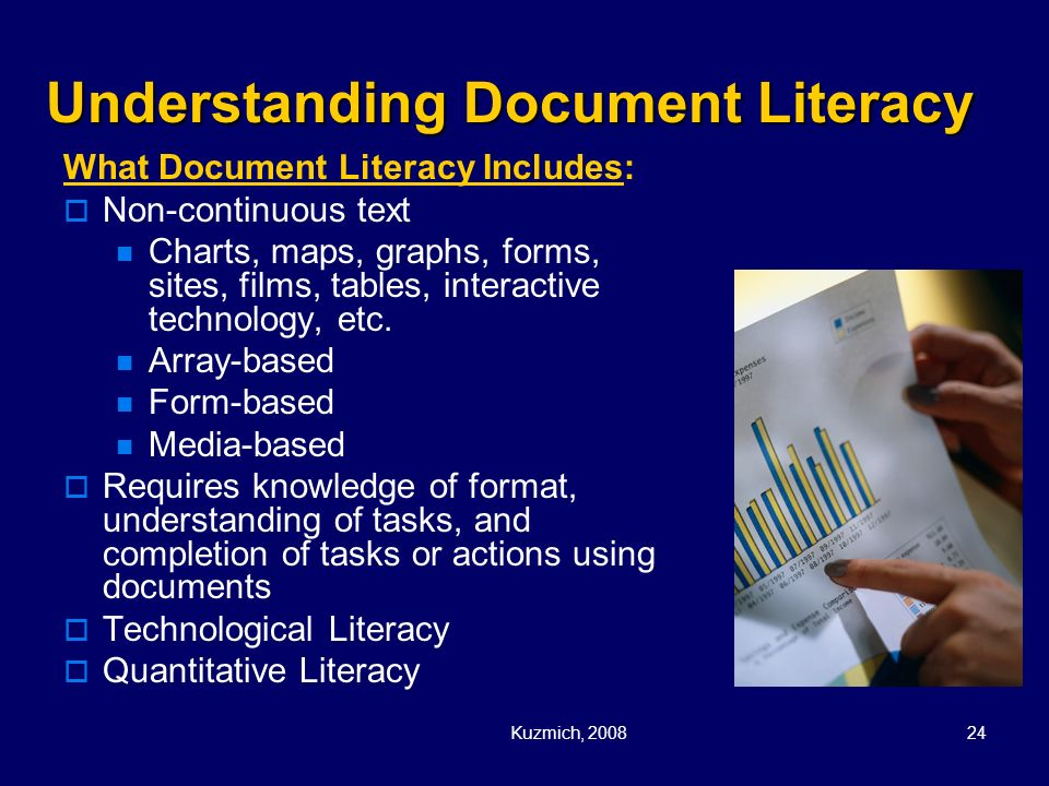 Understanding Document Literacy
