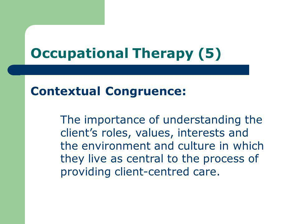 Occupational Therapy (5)