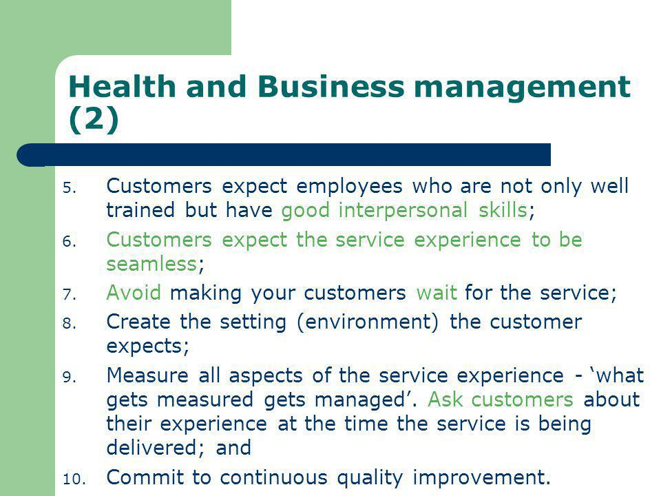 Health and Business management (2)