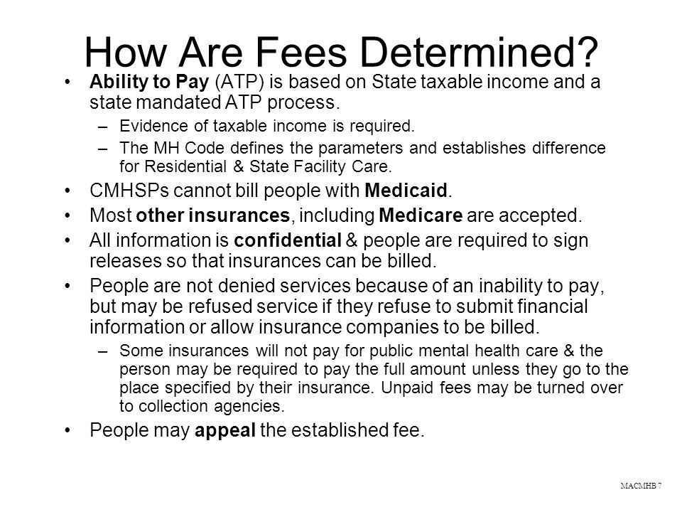 How Are Fees Determined