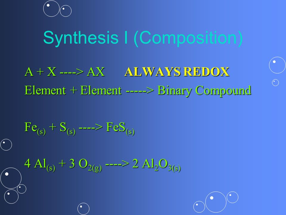 Synthesis I (Composition)