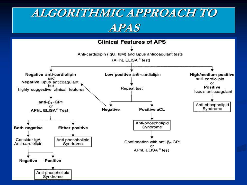 ALGORITHMIC APPROACH TO APAS
