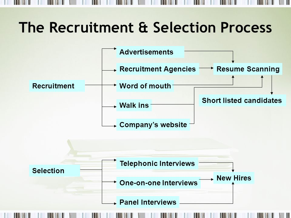 The Recruitment & Selection Process