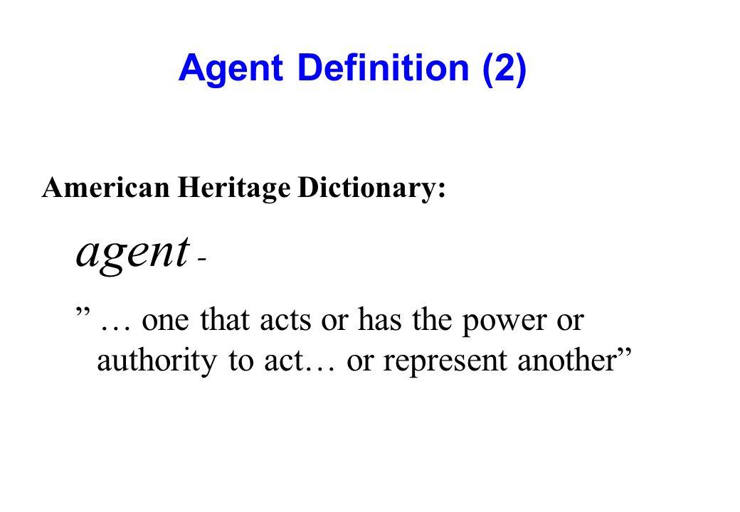 agent - Agent Definition (2)