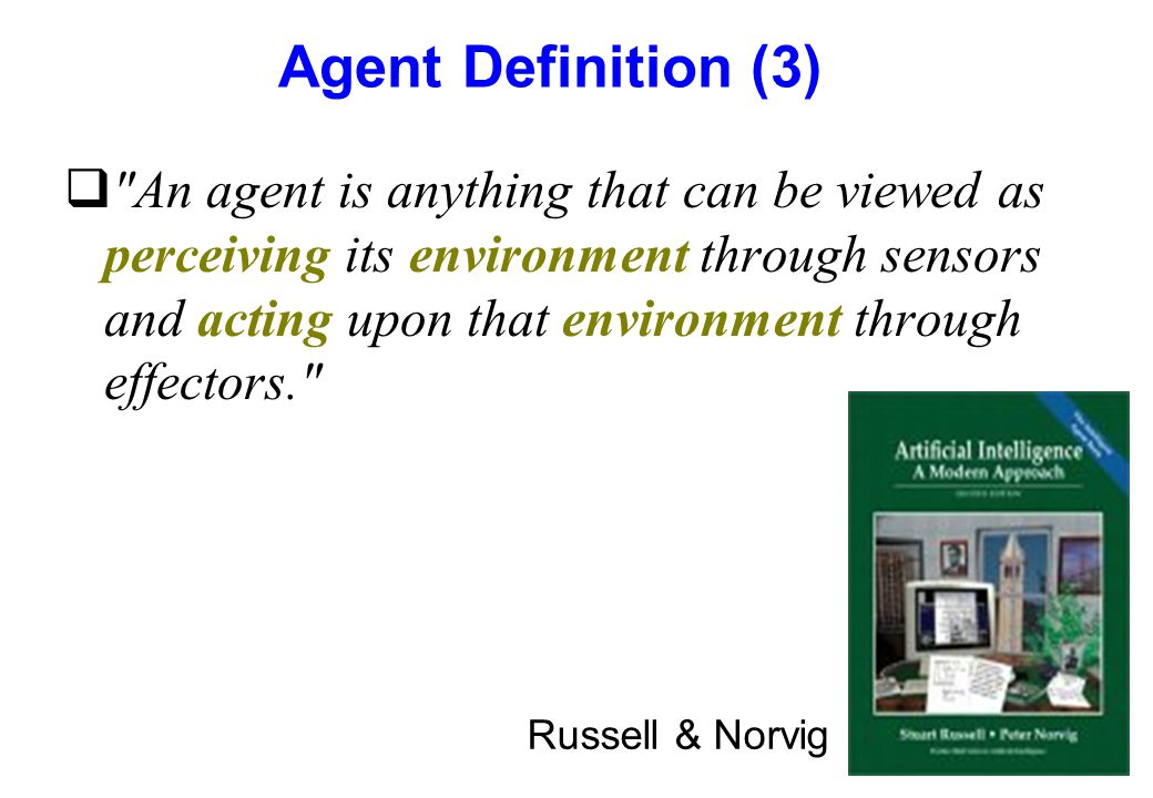 Agent Definition (3)