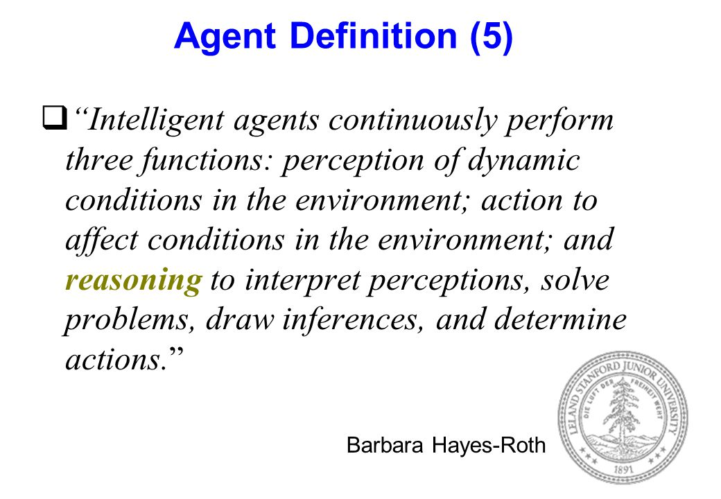 Agent Definition (5)