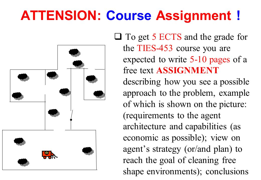 ATTENSION: Course Assignment !