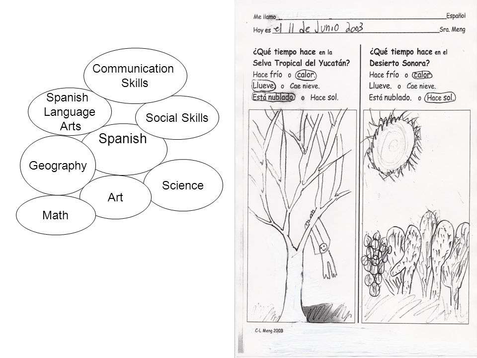 Spanish Communication Skills Spanish Language Arts Social Skills