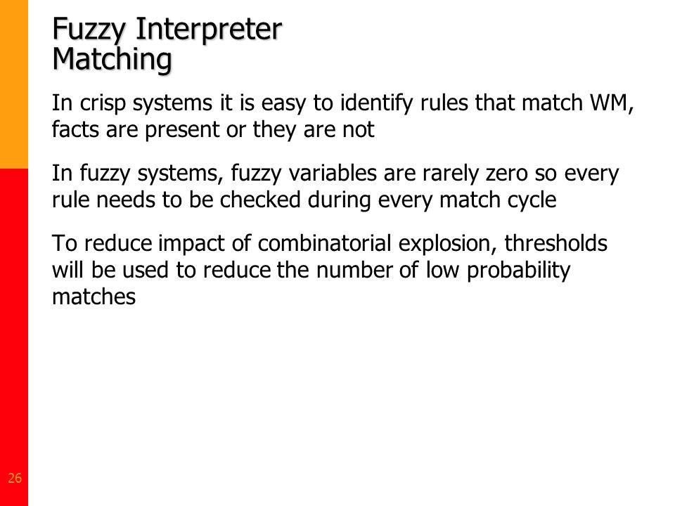 Fuzzy Interpreter Matching
