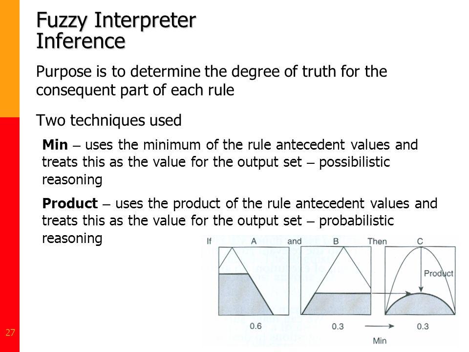 Fuzzy Interpreter Inference