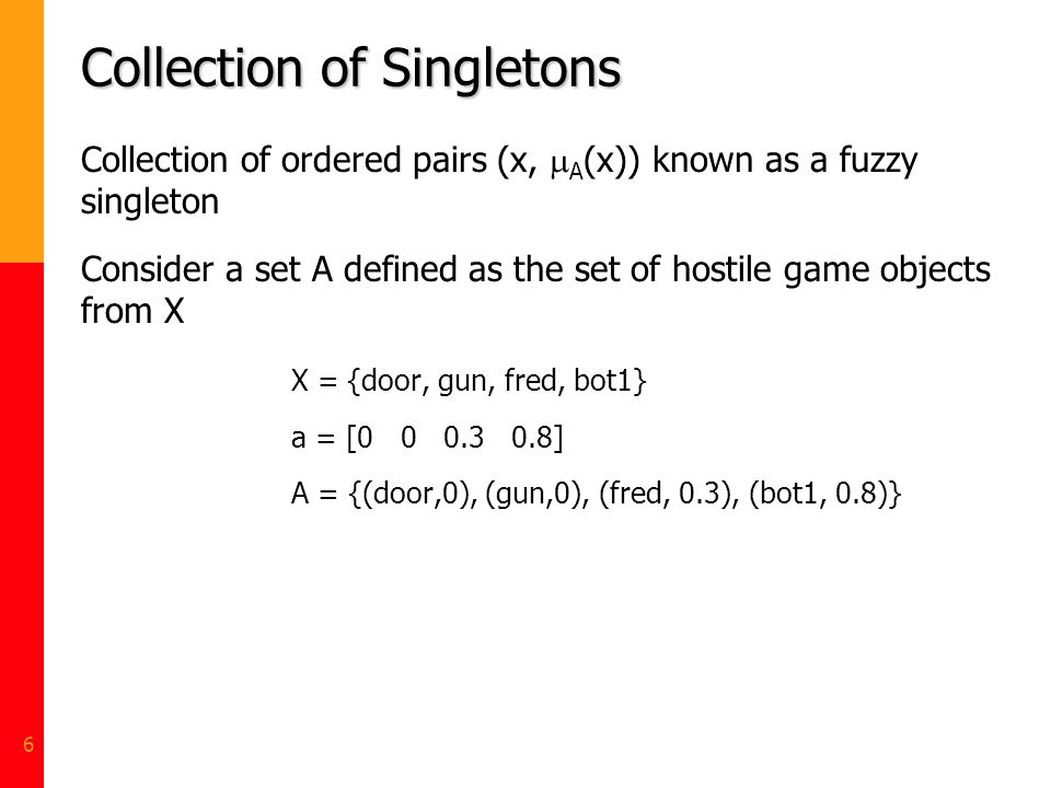 Collection of Singletons
