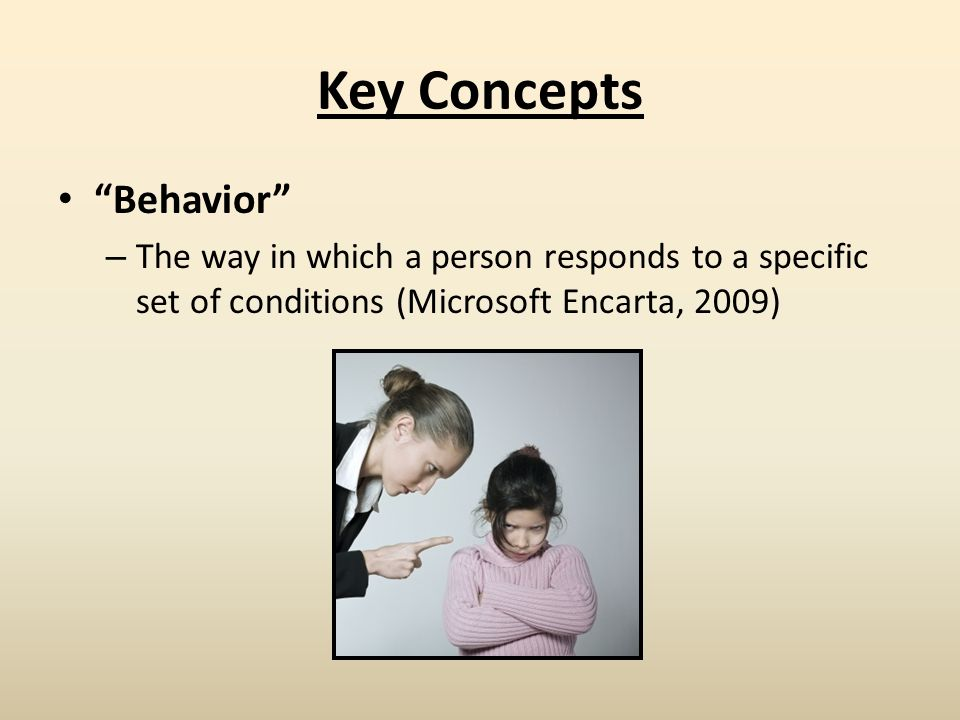 Key Concepts Behavior