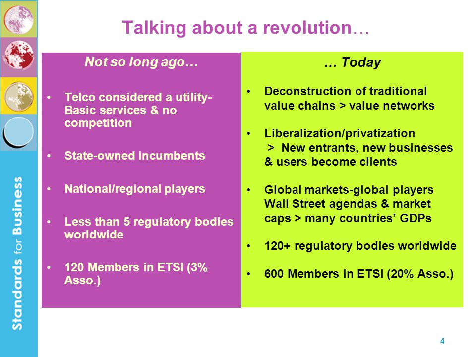 Talking about a revolution…
