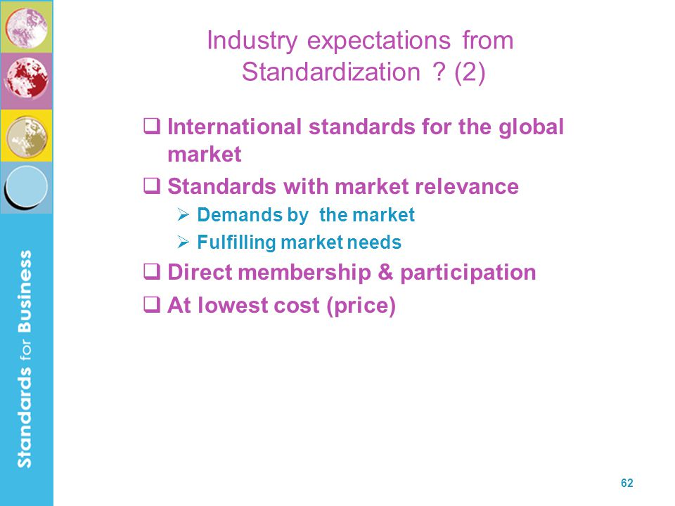 Industry expectations from Standardization (2)