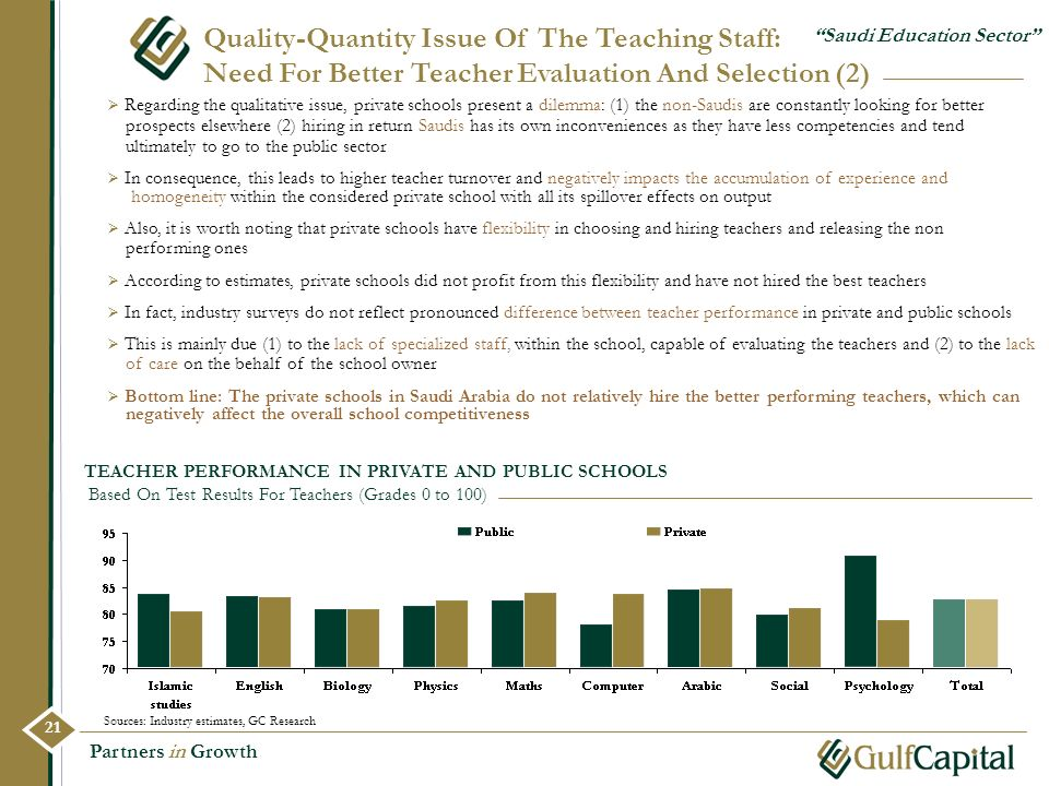 Quality-Quantity Issue Of The Teaching Staff: Need For Better Teacher Evaluation And Selection (2)