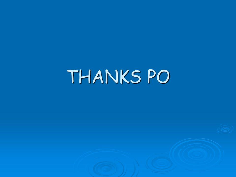 THANKS PO