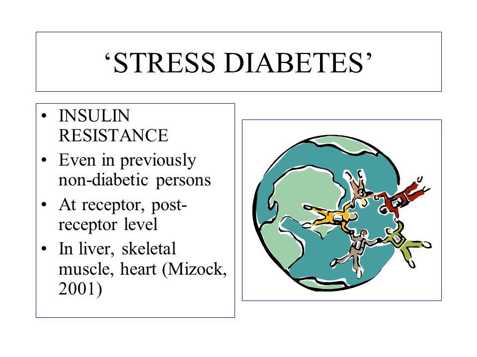 'STRESS DIABETES' INSULIN RESISTANCE