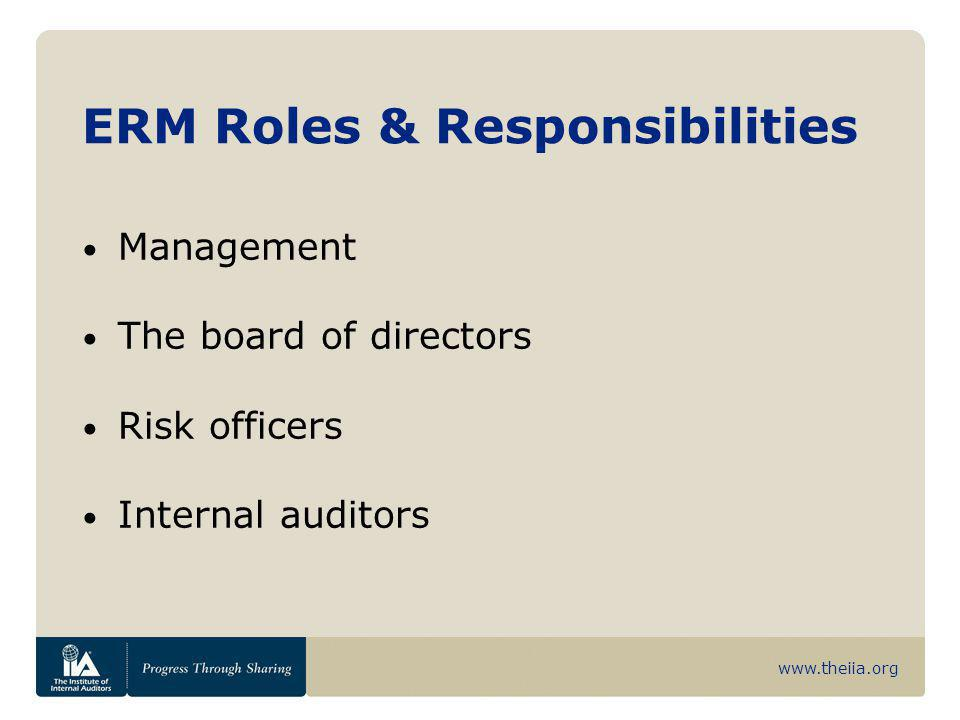 roles and responsibilities of auditors ceo Receive alerts, newsletters, upcoming event notices and other publications.