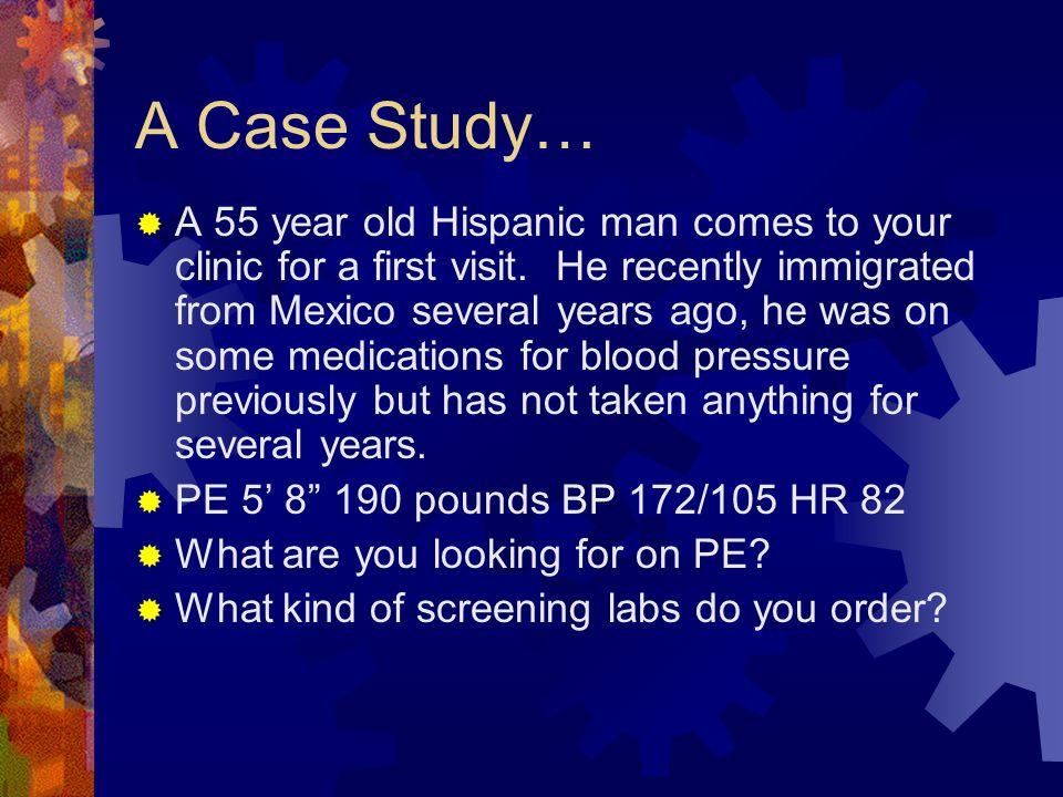 A Case Study…