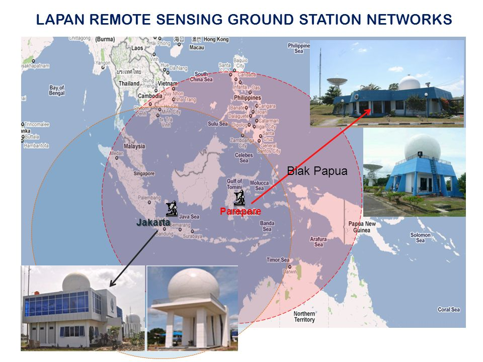 LAPAN REMOTE SENSING GROUND STATION NETWORKS