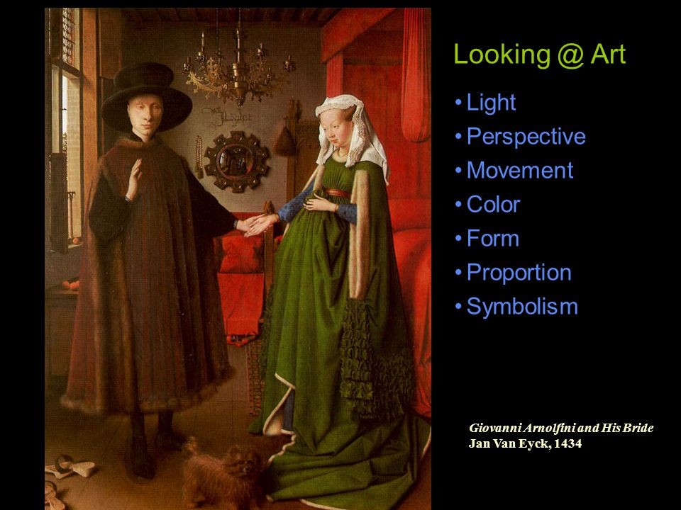 Looking @ Art Light Perspective Movement Color Form Proportion