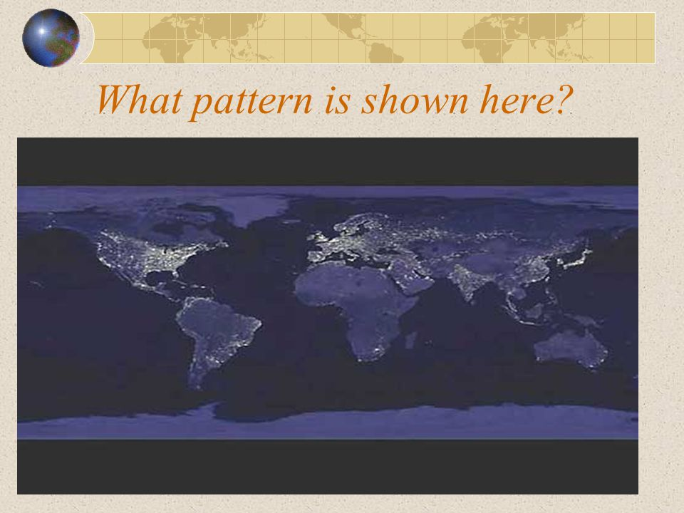 What pattern is shown here