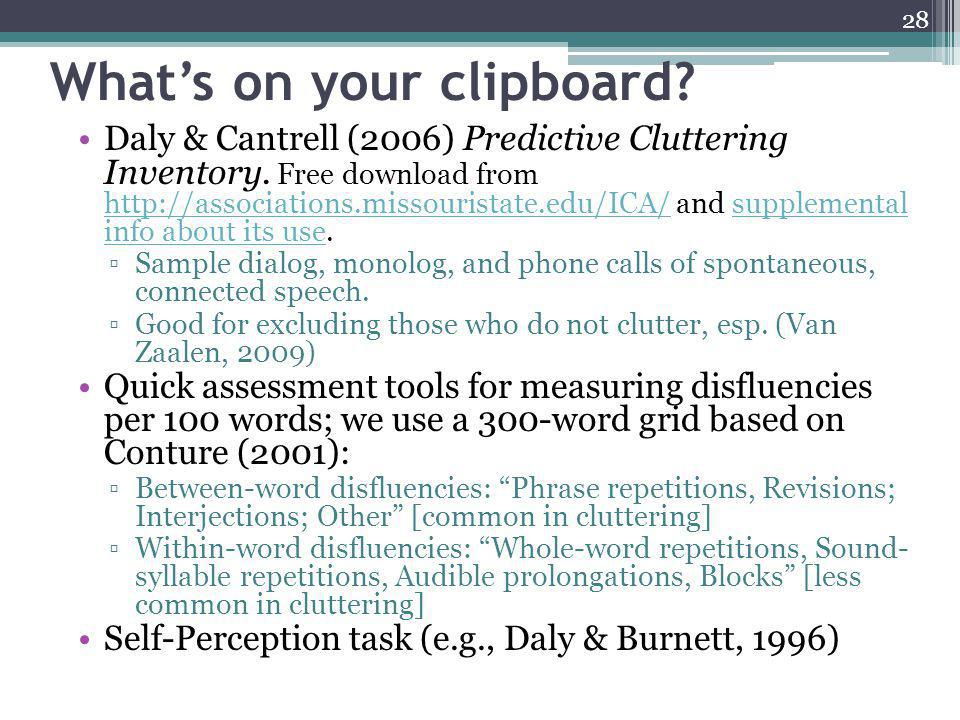 What's on your clipboard