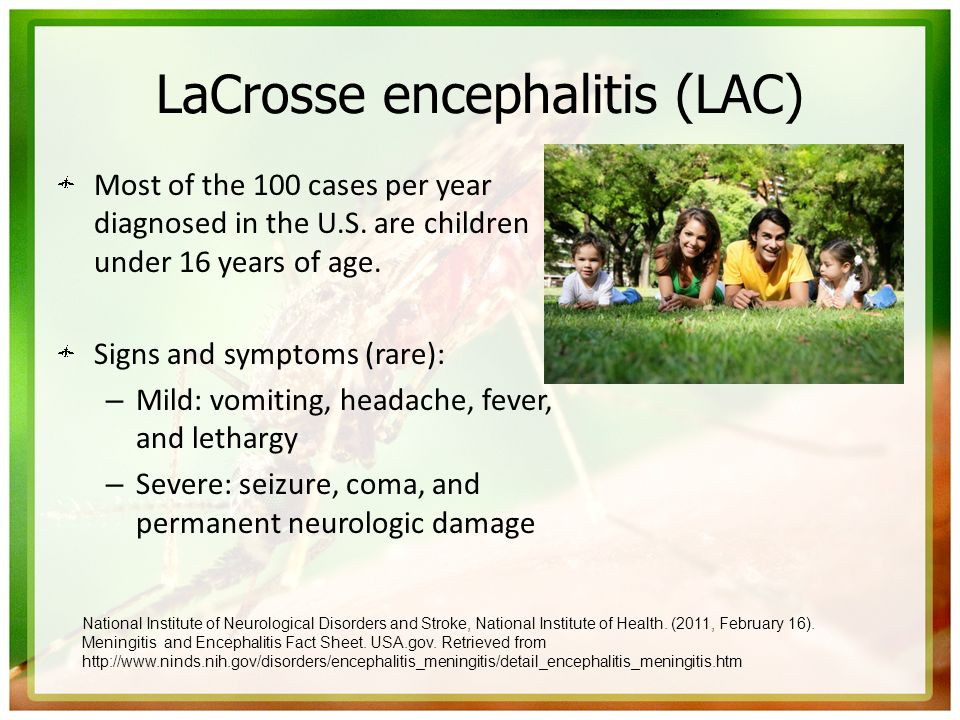 LaCrosse encephalitis (LAC)