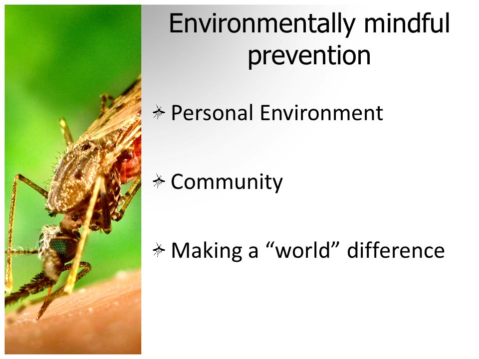 Environmentally mindful prevention