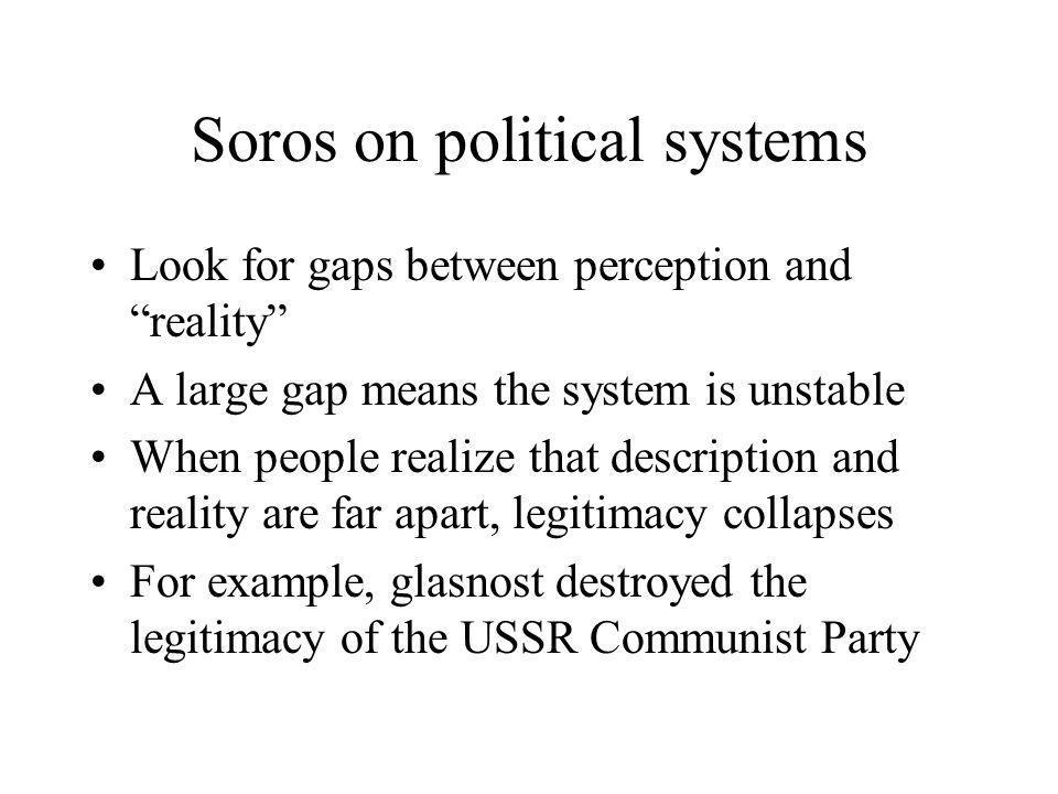 Soros on political systems