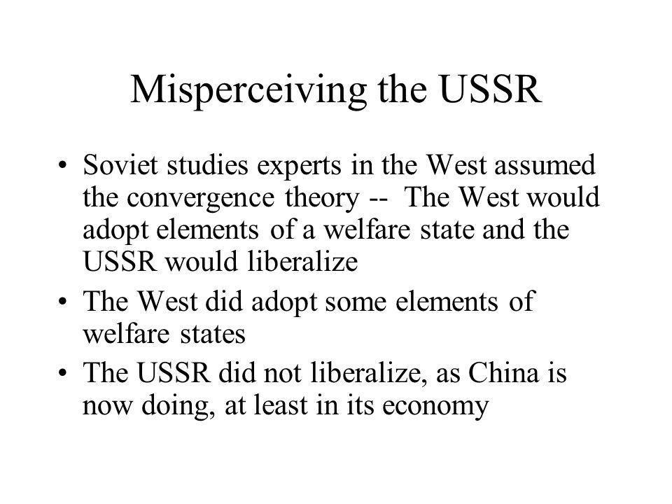 Misperceiving the USSR